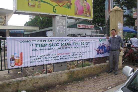 Tiếp sức mùa thi 2012 cùng Satauxe Plus 1