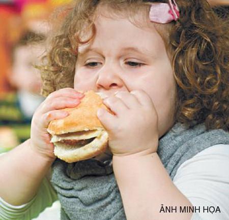 Bệnh thừa cân béo phì ở trẻ em 1