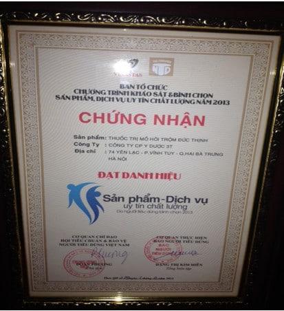 3tpharma vinh dự nhận giải thưởng