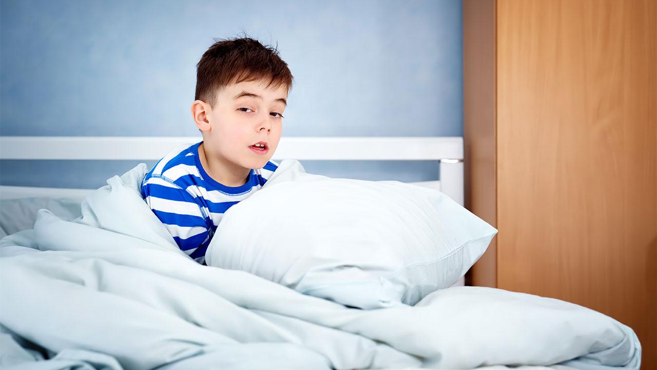 chứng đái dầm ở trẻ em