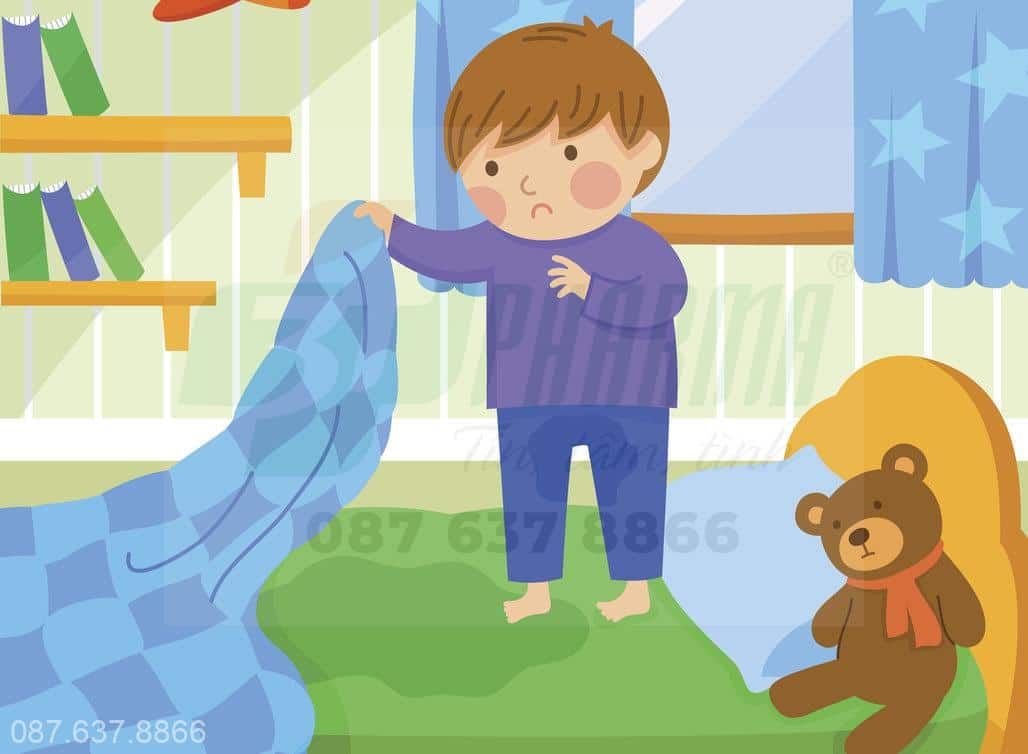 10 Yếu Tố Khiến Trẻ Đái Dầm Vào Ban Đêm
