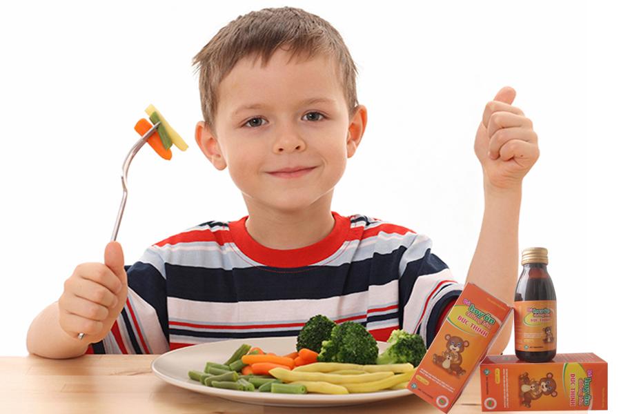 Bé hay ăn chóng lớn Đức Thịnh giúp xử lý tận gốc nguyên nhân gây nên chứng biếng ăn ở trẻ 2