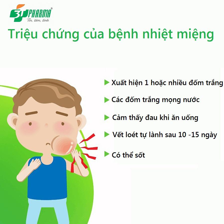Nhiệt miệng – Nguyên nhân, triệu chứng và cách khắc phục