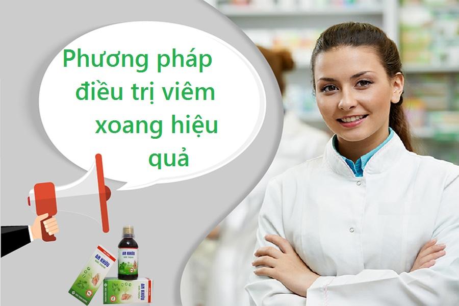 Phương pháp điều trị viêm xoang hiệu quả 1
